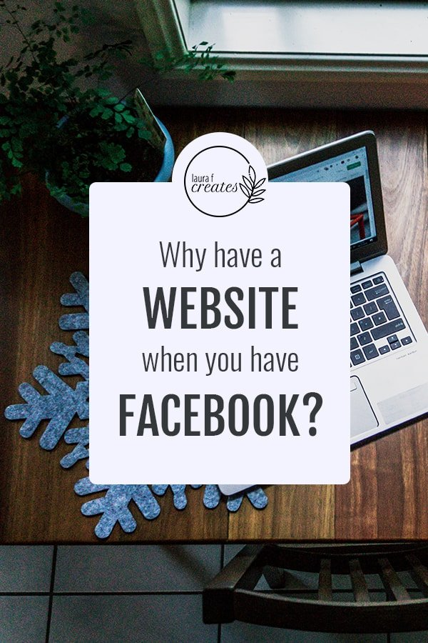 Why have a website when you've got Facebook?