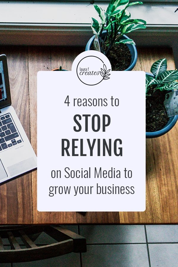 4 Reasons to Stop Relying on Social Media to Grow Your Business